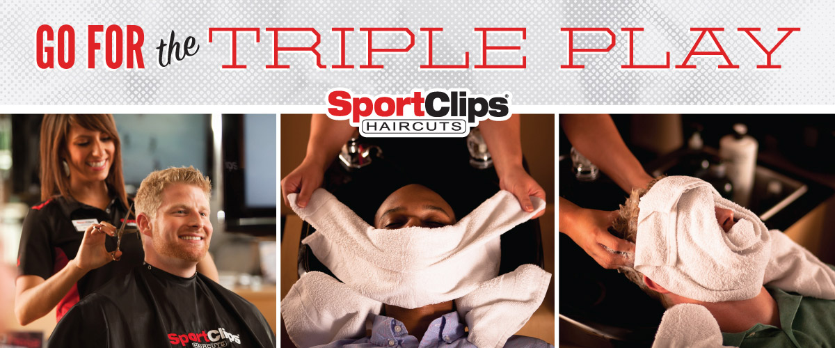 The Sport Clips Haircuts of Columbus Park Crossing  Triple Play